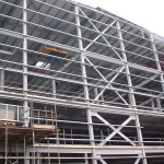 Cladding support steel work- Client – POCHIN
