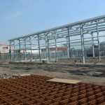 Pro cure steel frame building Detail G/A drawings, Fabrication drawings manufacture and erection by Grand.
