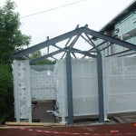 Smoking shed at Wavertree Technology Park