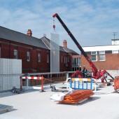 Wrexham Car Park Site Installation